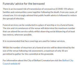 "Funeral and Sinn Fein's ""Special"" Rules"